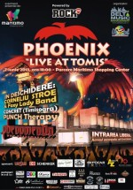"Concert Phoenix – ""Live at Tomis"" în parcarea Maritimo Shopping Center din Constanţa"