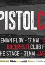 Concerte Pistol cu Capse în Sibiu, Cluj-Napoca, Bucureşti, Bacău şi Iaşi