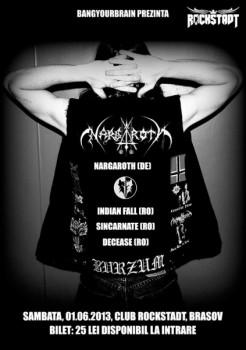 Concert Nargaroth în Rockstadt Club din Braşov