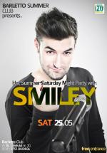 Concert Smiley în Barletto Summer Club din Bucureşti