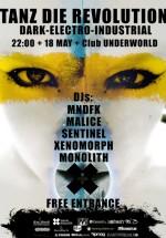 Tanz die Revolution cu DJ Mndfk şi DJane Malice în Club Underworld din Bucureşti