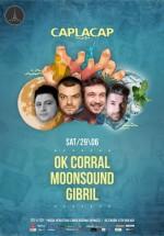 OK Corral, MoonSound şi Gibril în Tête-à-Tête din Bucureşti