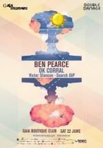 Ben Pearce în Gaia Boutique Club din Bucureşti