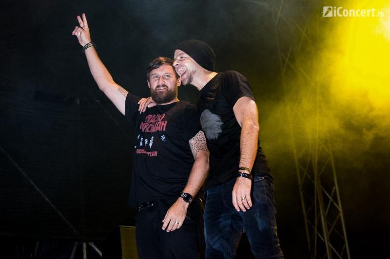 Paul Harding şi Mc Verse la Electric Castle Festival 2013 - Foto: Irina Iacob / iConcert.ro
