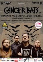 Concert Cancer Bats în Club Fabrica din Bucureşti
