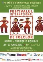 """Festivalul Internaţional de Folclor """"Muzici şi Tradiţii în Cişmigiu"""" 2013"""
