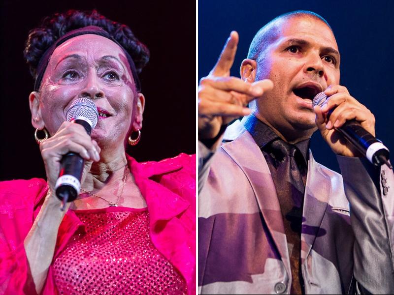 Omara Portuondo şi Carlos Calunga - Foto: Daniel Robert Dinu / iConcert.ro