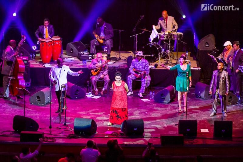 Orquesta Buena Vista Social Club în formulă completă la Bucureşti - Foto: Daniel Robert Dinu / iConcert.ro