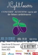 Concert acustic Nightlosers în J'ai Bistrot din Bucureşti