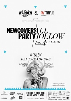 All Hollow # 4 Launch Party cu Robin and the Backstabbers în Club Midi din Cluj-Napoca