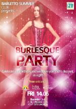 Burlesque Party în Barletto Summer Club din Bucureşti