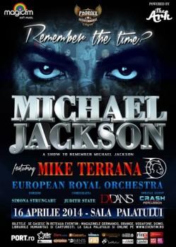 A Show to Remember? Michael Jackson feat. Mike Terrana la Bucureşti – ANULAT