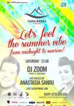 DJ Zoom şi Anastasia Sandu la Ponton Casa Baraj din Crivaia