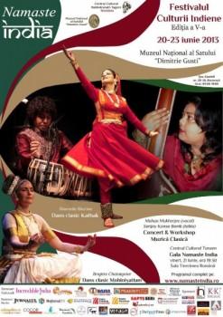 Festivalul Namaste India la Bucureşti