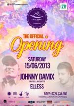 Johnny Damix şi DJ Elless la Ponton Casa Baraj din Crivaia