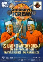 Concert şi lansare album Smokey & Krem în Club DownTown Cinema din Fălticeni