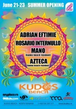 Kudos Beach Summer Opening 2013