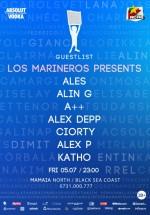 Alin G, Alex Deep, Katho în Club Guestlist din Mamaia