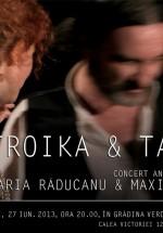 Concert aniversar Maria Răducanu şi Maxim Belciug în Green Hours din Bucureşti