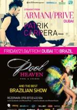 Patrick Carrera în Heaven Pool & Lounge din Timişoara