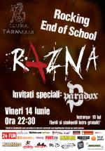 Concert Razna la Clubul Ţăranului din Bucureşti