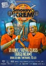 Concert şi lansare album Smokey & Krem în Club Royal Class din Târgu Neamţ