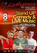 Stand Up Comedy & Live Music în Katharsis Club din Vatra Dornei