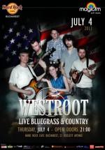 Concert Westroot în Hard Rock Cafe din Bucureşti