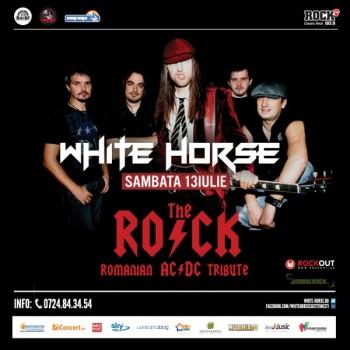 Concert The R.O.C.K. – AC/DC Tribute în White Horse din Costineşti