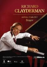 Concert Richard Clayderman în Piaţa Sfatului din Braşov