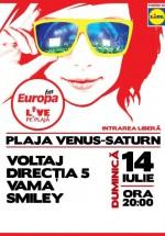 Europa FM Live pe Plajă 2013 între Venus şi Saturn
