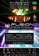 FUSION Festival 2013 la Barajul Gura Rîului