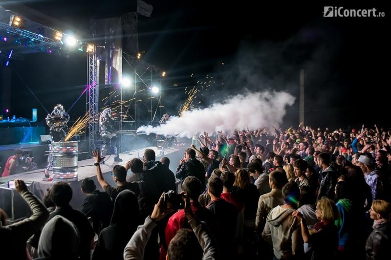 Spectacol Invaders la Fusion Festival 2013 - Foto: Irina Iacob / iConcert.ro