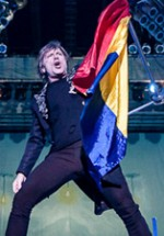 """POZE: Iron Maiden – """"Maiden England"""" în Piaţa Constituţiei din Bucureşti"""