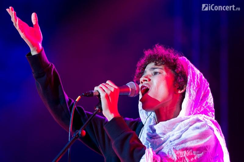 Nneka, în premieră în România, la B'ESTFEST 2013 - Foto: Daniel Robert Dinu / iConcert.ro