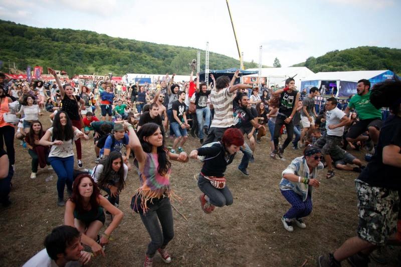 Peninsularii au dansat nestingheriţi şi în cea de-a treia zi de festival - Foto: facebook.com/PeninsulaFelszigetOfficial