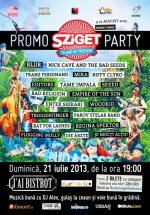 Sziget Festival 2013 Promo Party în J'ai Bistrot din Bucureşti