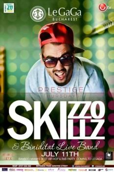 Concert Skizzo Skills în Le Gaga din Bucureşti