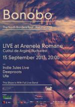 Concert Bonobo la Arenele Romane din Bucureşti