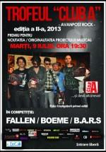 Concerte Fallen, Boeme şi B.A.R.S în Club A din Bucureşti