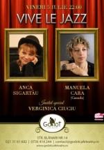 Concert Vive Le Jazz cu Jazzy Ladies în Godot Cafe-Teatru din Bucureşti