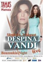 Concert Despina Vandi la YAMAS Live Club din Mamaia – ANULAT
