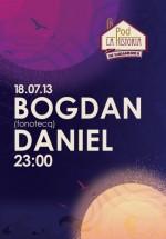 Bogdan şi Daniel la În Pod la Historia din Bucureşti