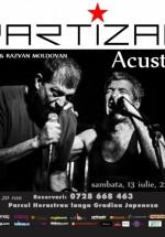 Concert acustic Artan şi Răzvan Moldovan – Partizan în Tête-à-Tête din Bucureşti