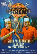 Concert şi lansare album Smokey & Krem în Club Habitat din Alba-Iulia