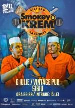 Concert şi lansare album Smokey & Krem în Vintage Pub din Sibiu