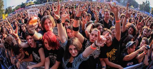 RECENZIE: Prima zi la Rock the City 2013, încălzirea pentru Rammstein (POZE)