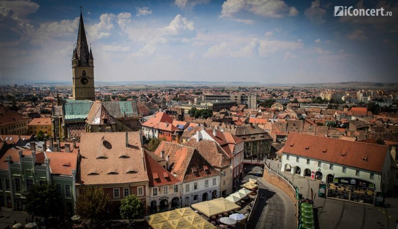 Sibiul văzut de sus - Foto: Paul Voicu / iConcert.ro