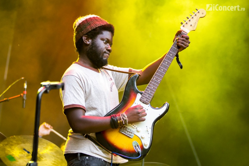 Michael Kiwanuka la Summer Well 2013 - Foto: Daniel Robert Dinu / iConcert.ro