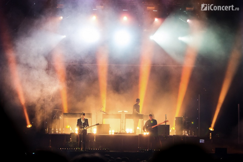The xx, headliner-ii primei zile de Summer Well 2013 - Foto: Daniel Robert Dinu / iConcert.ro